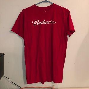 Red Budweiser T-shirt